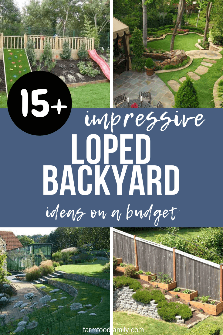 21+ Best Sloped Backyard Ideas & Designs On A Budget For 2019 on Backyard With Slope Ideas  id=78378