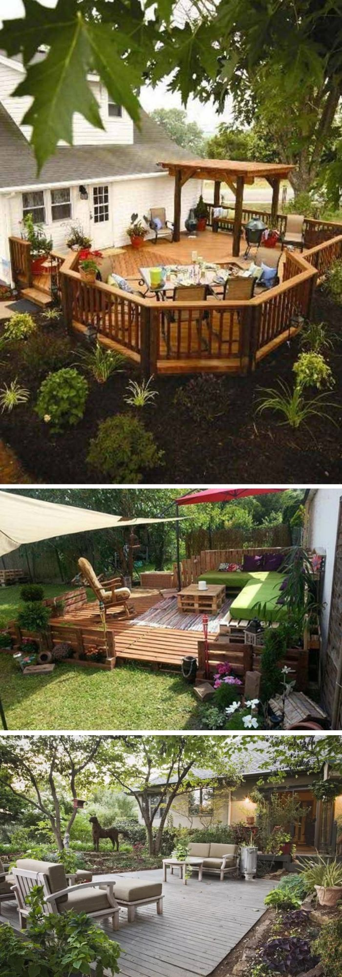26+ Beautiful Deck Design Ideas For Your Backyard (Photos ...