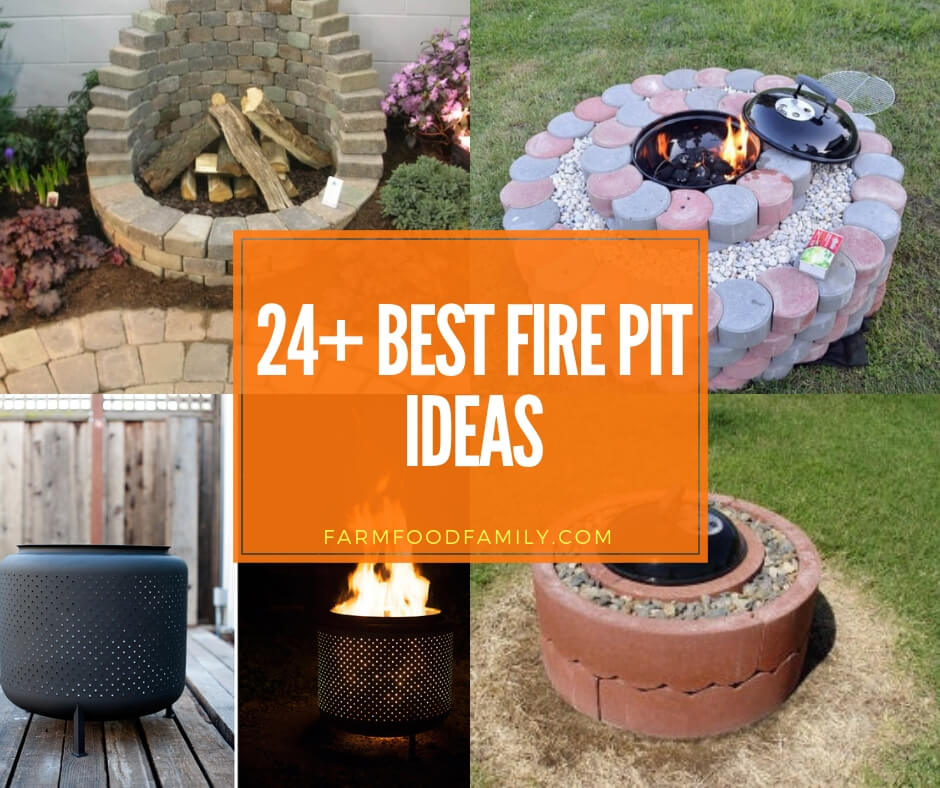 24 Creative And Cheap Fire Pit Ideas Designs For 2020