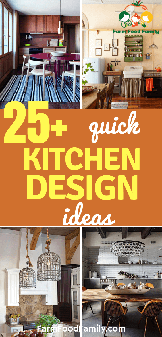 25 Quick Kitchen Designs And Ideas For 2019