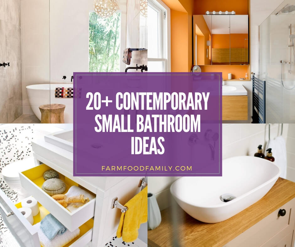 20 Best Contemporary Small Bathroom Ideas Designs For 2020