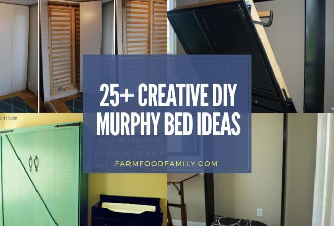 25+ Creative DIY Murphy Bed Ideas and...
