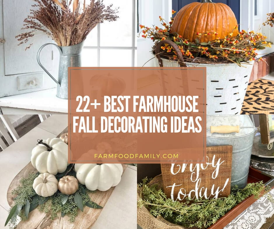 22+ Awesome Farmhouse Fall Decorating Ideas And Designs