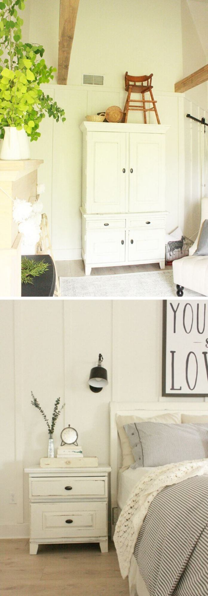 21+ Rustic Farmhouse Bedroom Decorating Ideas For 2021