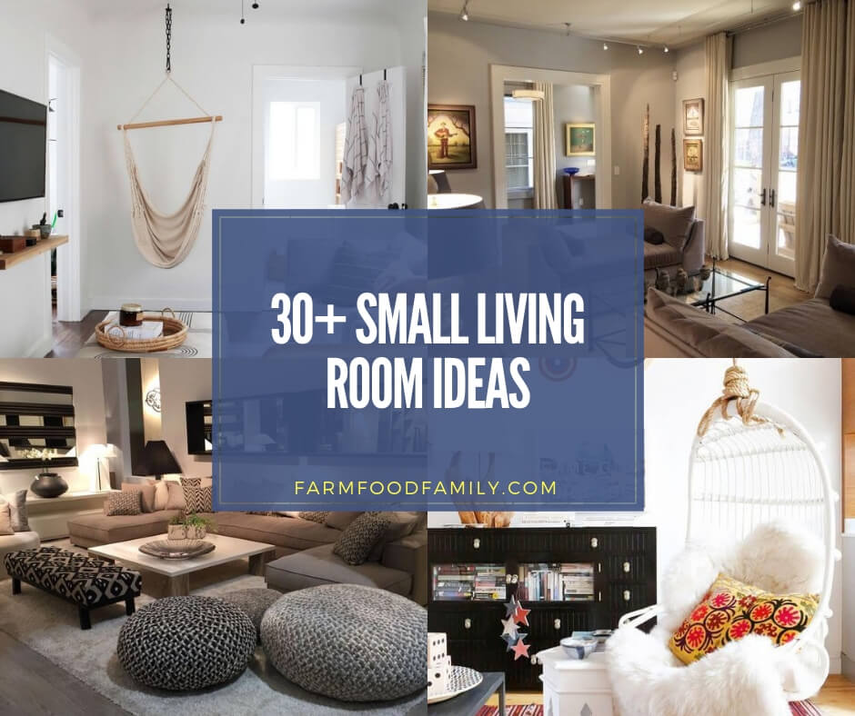 30 Creative Small Living Room Ideas Designs For 2019