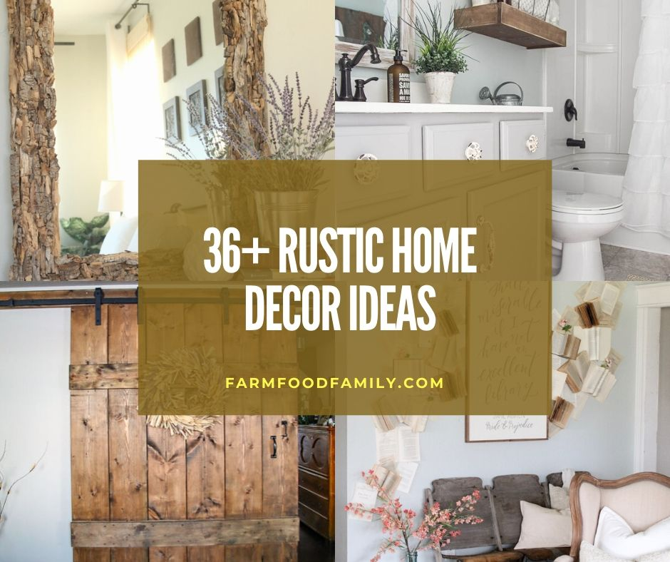 36 Rustic Home Decor Ideas And Designs That Bring Charm To Your Home