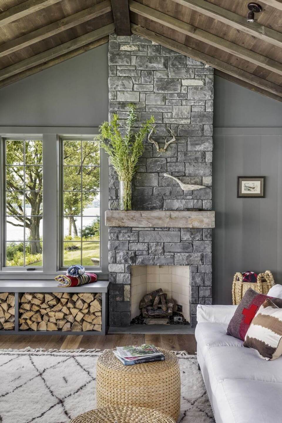 33 stunning fireplace design ideas for 2020  living room