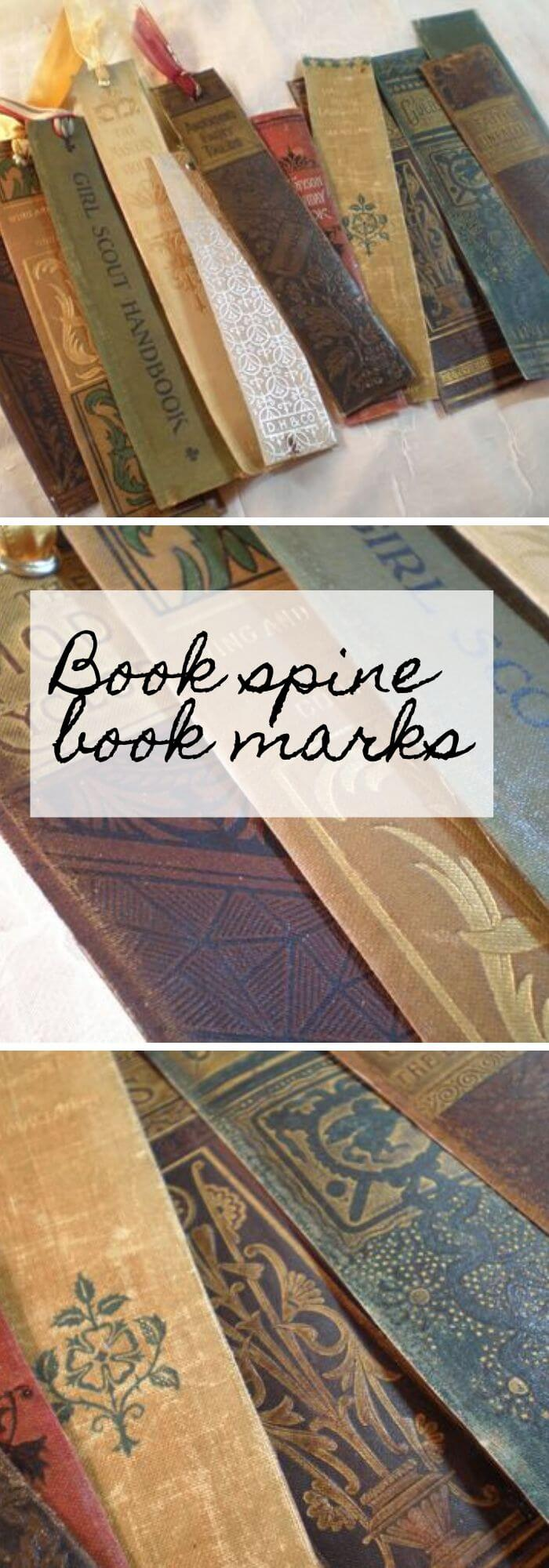Make Cool Book Spine Book Marks