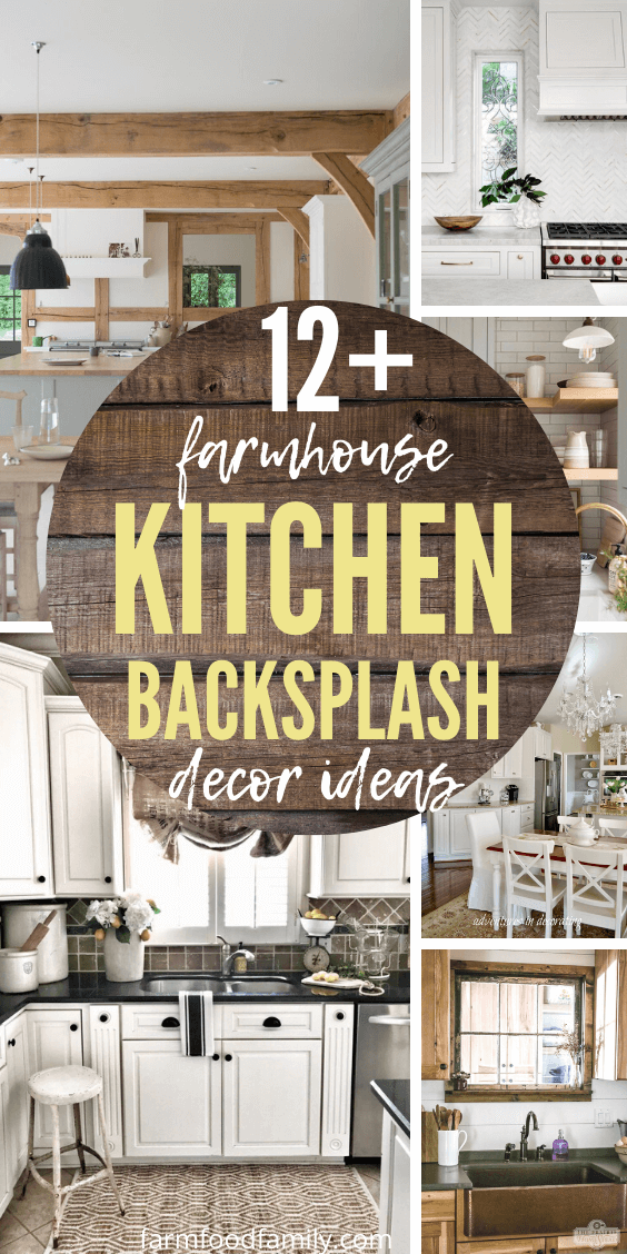 12 Stunning Farmhouse Kitchen Backsplash Decor Designs Ideas In 2021