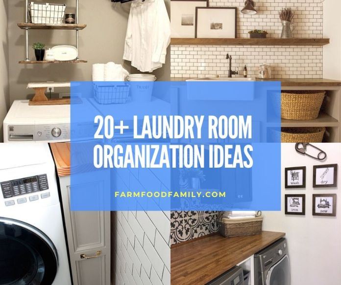 20 Clever Laundry Room Organization Storage Ideas For 2021