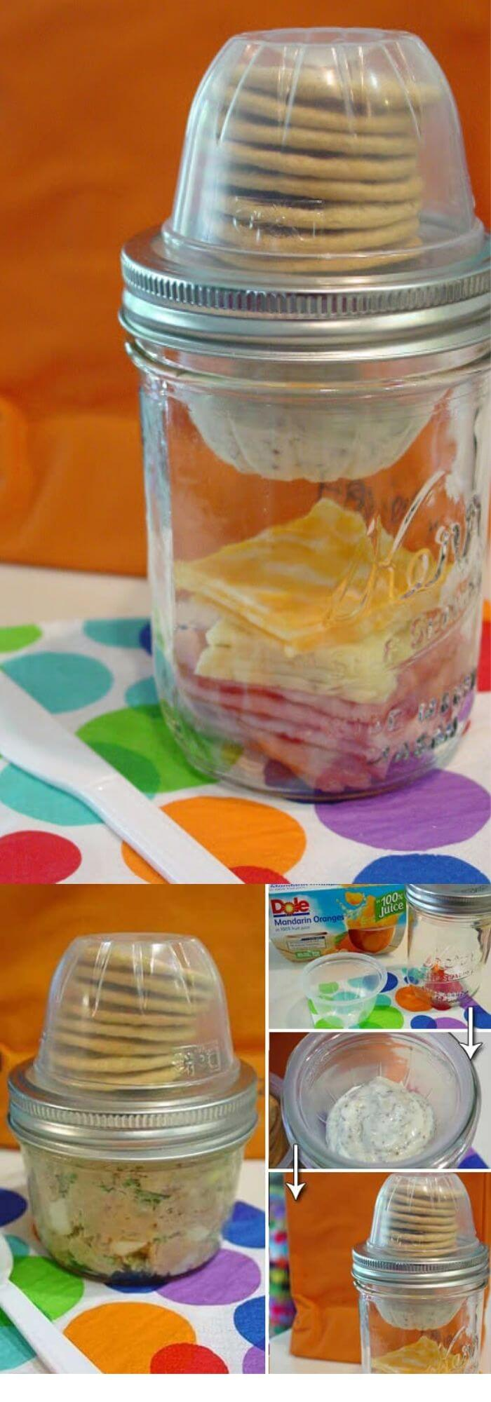 Empty Fruit Cup + Mason Jar