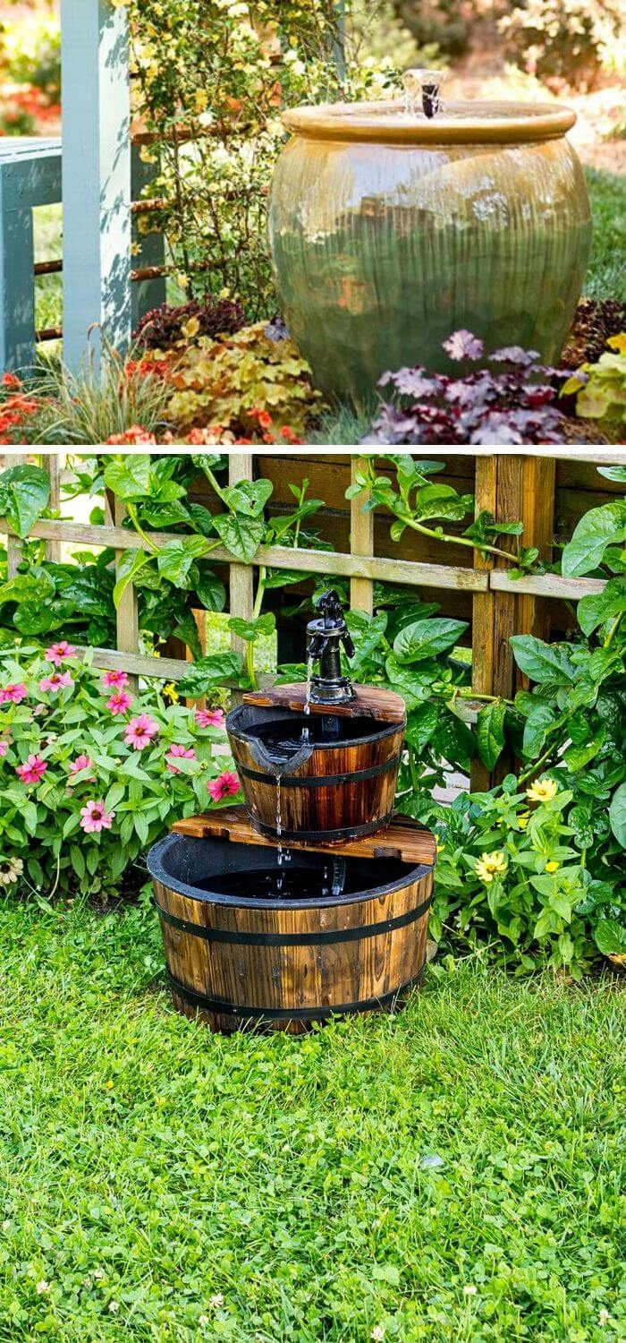 Backyard DIY Fountain