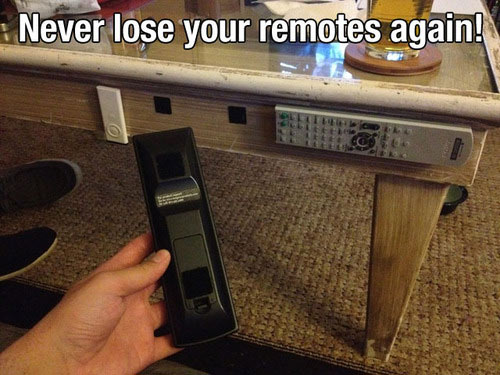 Never lose your remote again