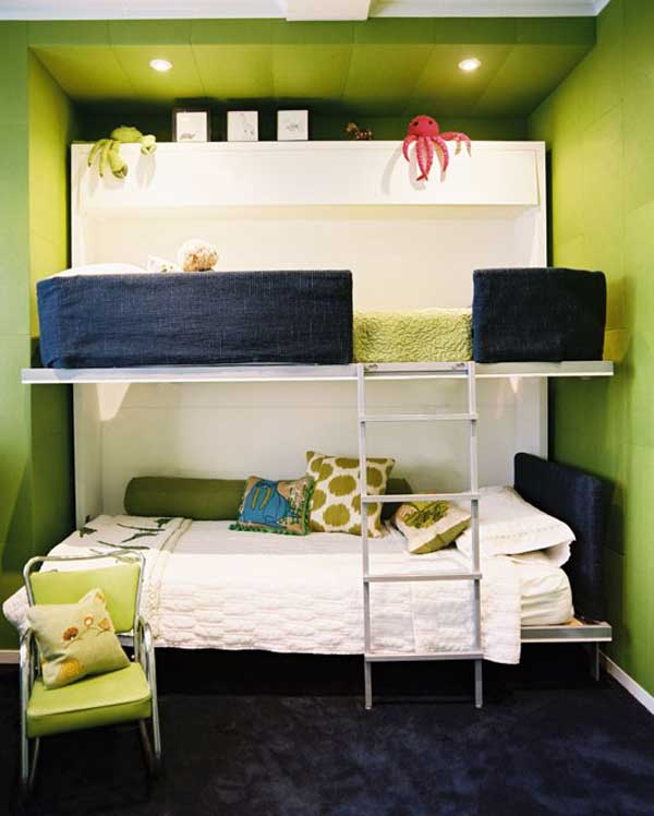 Bunk Bedideas: 20 Built-in Bunk Bed Ideas And Designs For Kids From A