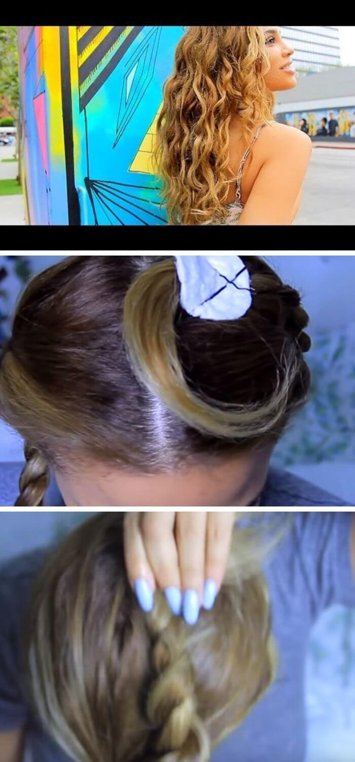Overnight Waves Hairstyle