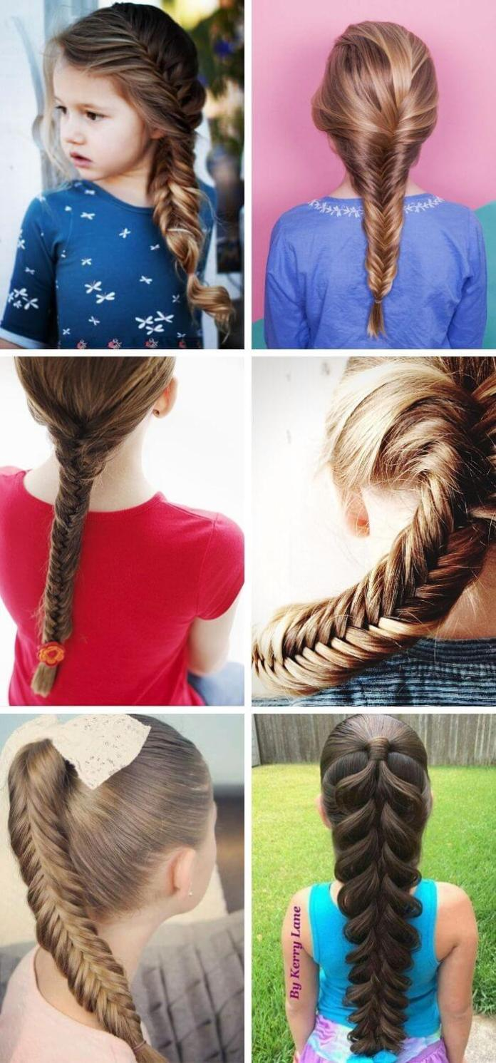 Fish-Braid Hairstyle