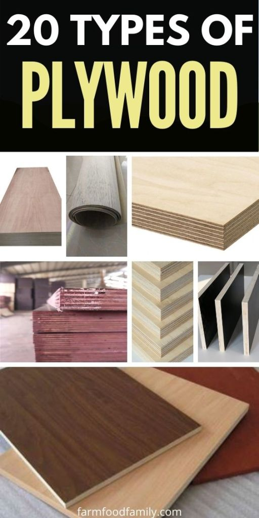 types of plywood with pictures