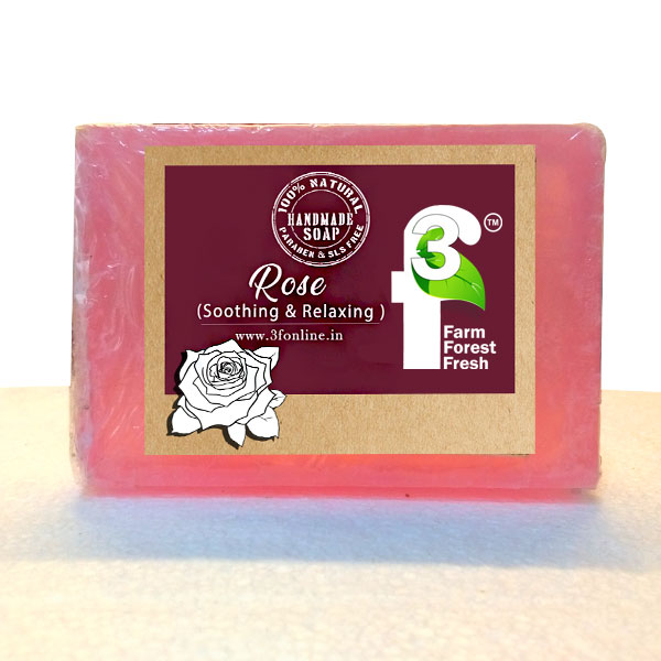 Handcrafted Rose Soap Bar