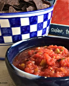 Fresh Salsa – How to Make & Can