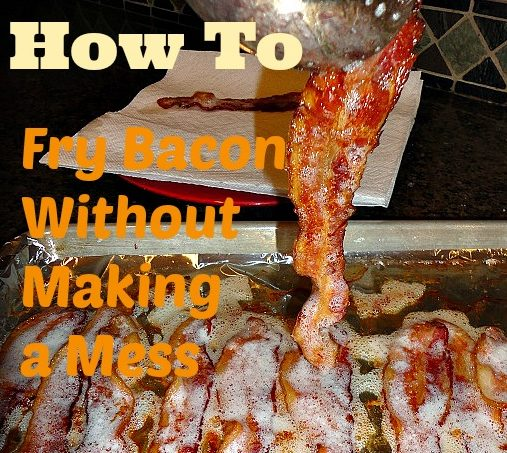How to fry bacon without making a mess farm fresh for life i spent the first 20 years give or take of my cooking life splattering grease on my cabinets and everything else whenever i cooked bacon ccuart Gallery