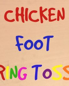 Chicken-Foot Ring Toss (Premium)