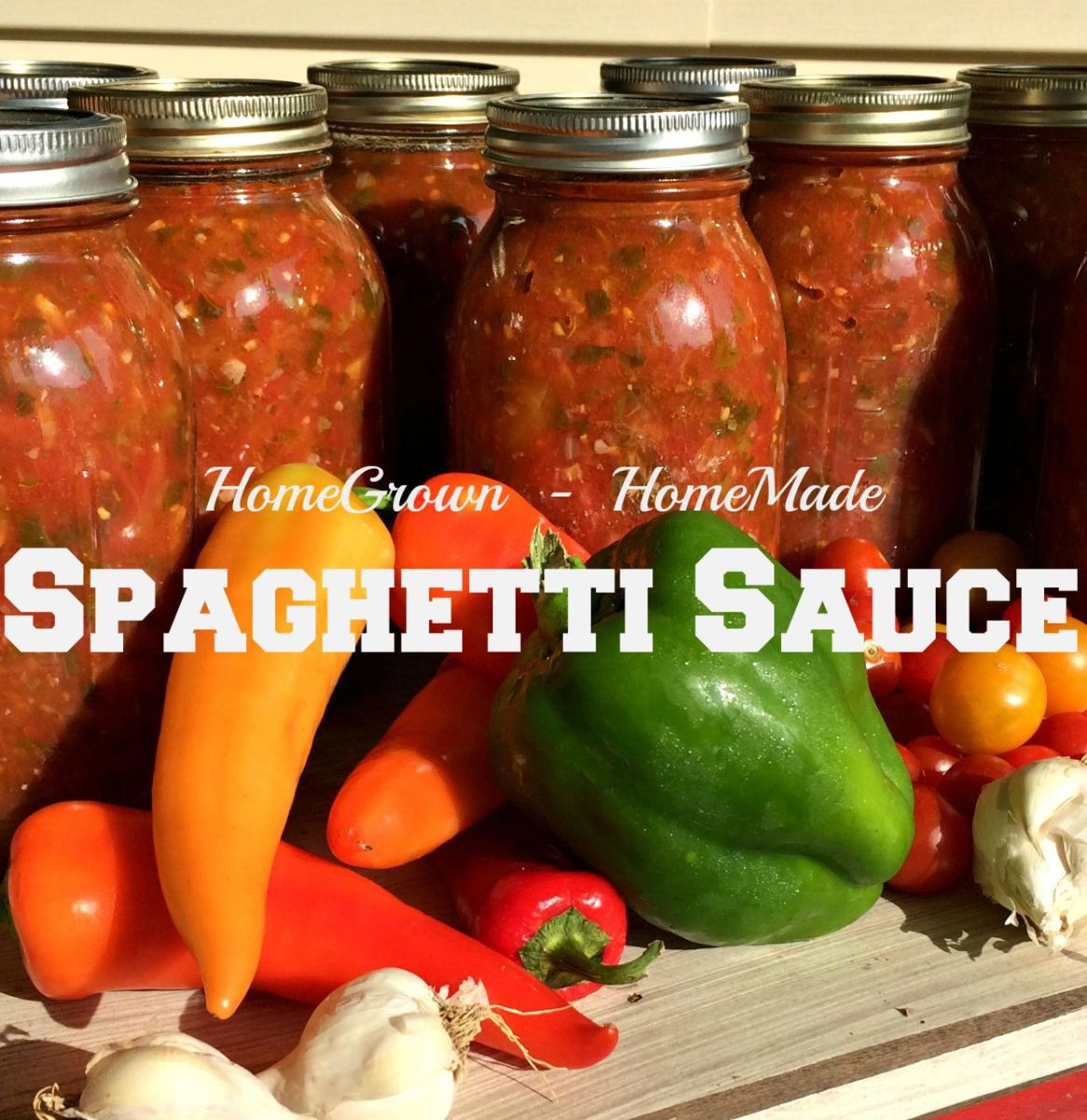 Make and Can Spaghetti Sauce!