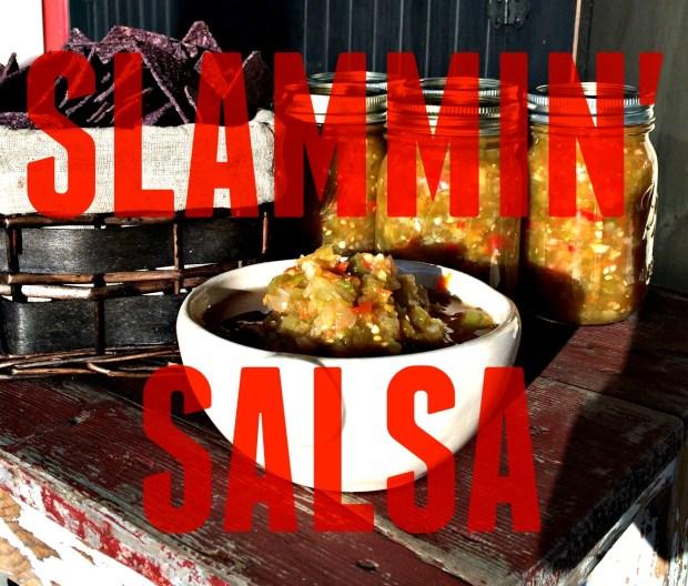 GREEN slammin salsa