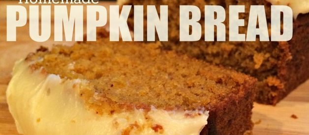 Homemade Pumpkin Bread – Even if you HATE Pumpkin and Anything Orange – You're Gonna Love This