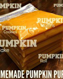 Homemade Pumpkin Puree – The stuff You Need to Make All Things Pumpkin
