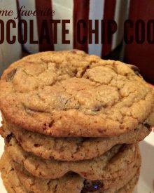 All Time Favorite Chocolate Chip Cookie