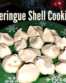 Meringue Shell Cookies Recipe