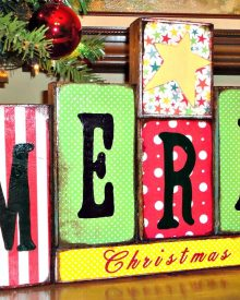 Easy, DIY Christmas Gifts from Scrap Wood