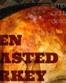 Old Fashioned Roasted Turkey Recipe