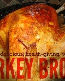 Turkey Broth Recipe