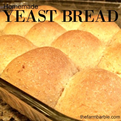 yeast bread 1.26