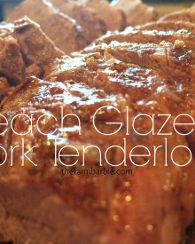 Peach Glazed Pork Tenderloin