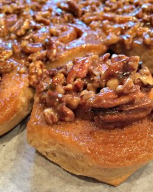 Sticky Buns With Fresh Milled Flour