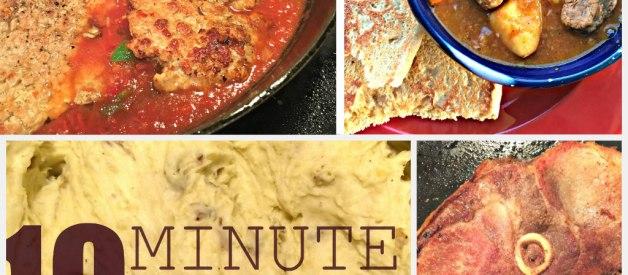 24 Fast, Easy (Real Food) Dinner Ideas