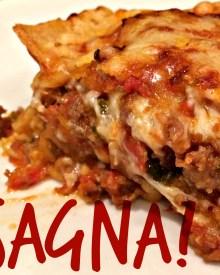 Lasagna with Fresh Pasta (Premium)