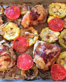 Balsamic Chicken Sheet Pan Supper (Premium)