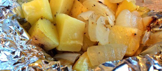 Easy Potato Pouches