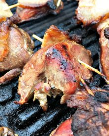 Grilled Dove Breasts