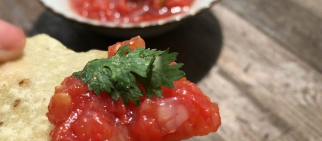 Perfect, Simple, Spicy Salsa