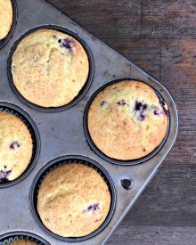 Ina Garten's Blueberry [or Blackberry] Coffee Cake Muffins