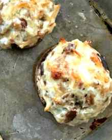 Classic Stuffed Mushrooms