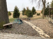 Old table, second hand furniture, fire pit