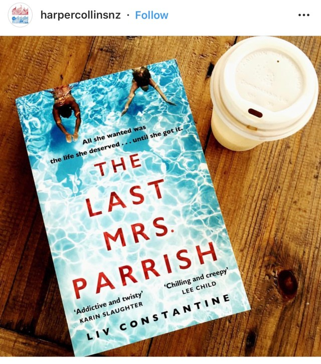 Book review the last Mrs Parrish