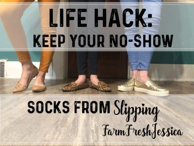 keep no show socks from slipping