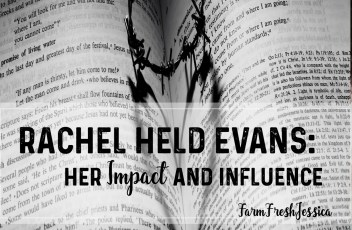 rachel held evans her impact and influence