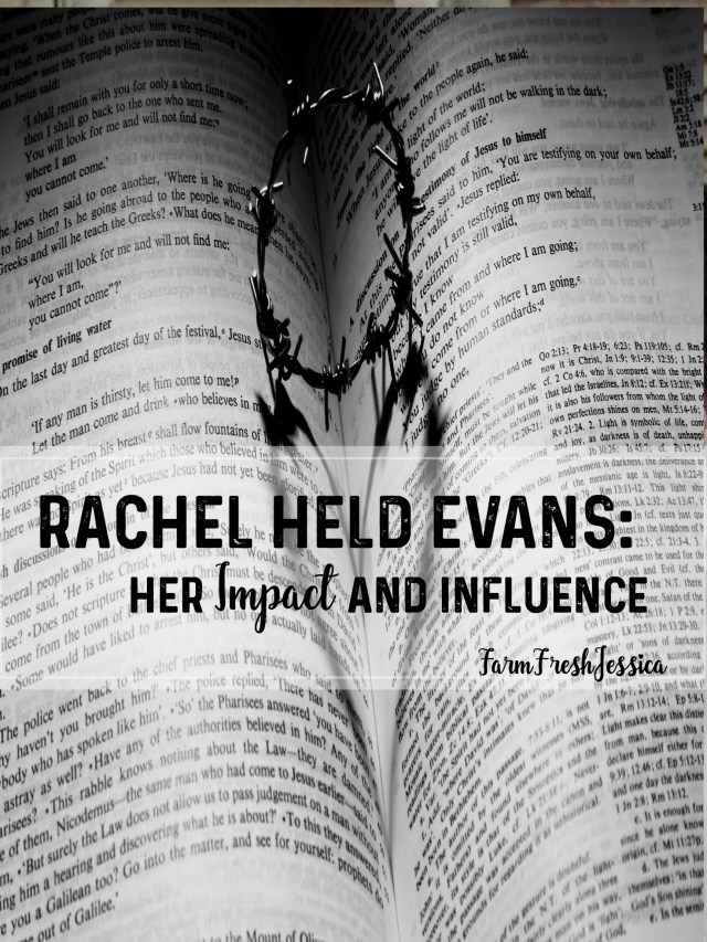 rachel held evans life and death impact and influence